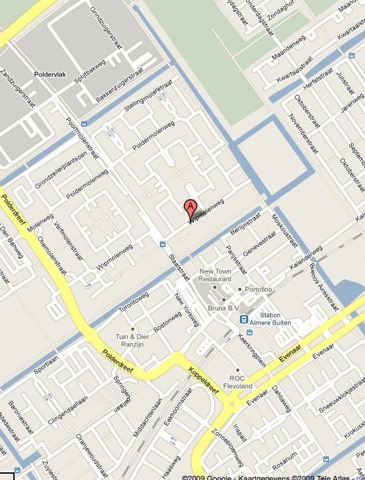 Googlemaps-Almere