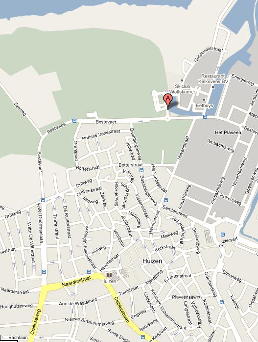 Googlemaps-Huizen